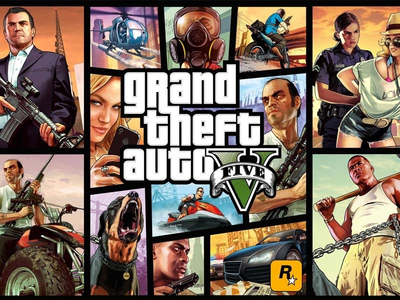 Grand Theft Auto V - PS4 PRO